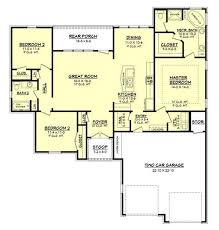 3 Bedroom Open Floor House Plans 242 Best House Plans Images On Pinterest House Floor Plans
