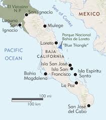Cabo San Lucas Mexico Map by Baja Exploring The Sea Of Cortez Itinerary U0026 Map Wilderness