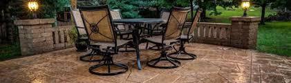 Backyard Concrete Patio Concrete Patio Patio Ideas Backyard Designs And Photos The