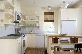 white kitchens with white appliances 27 kitchens with open shelving