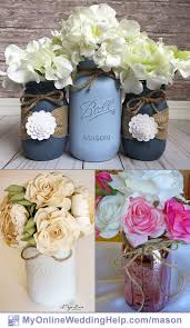 jar flower centerpieces 19 jar centerpiece ideas for weddings my online wedding