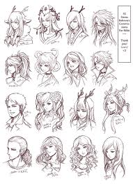 anime hairstyles tutorial found on google from pinterest com vague fantasy art pinterest
