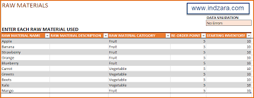 manufacturing inventory u0026 sales manager excel template bom u0026 invoice