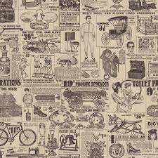 vintage witch wallpaper old news custom vintage retro wallpaper bar inspiration