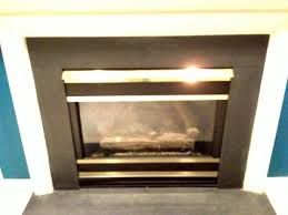 Polished Brass Fireplace Doors by Ideas For Hideous Brass Finishes On Gas Fireplace
