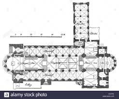 romanesque floor plan architecture floor plans bamberg cathedral built 1004 1012
