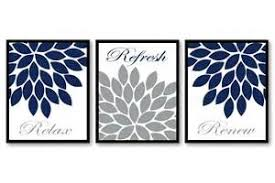 Blue And White Bathroom Accessories by Grey And Blue Bathroom 1 Navy Blue And White Bathroom Accessories