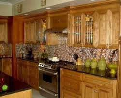 kitchen backsplash ideas with oak cabinets backsplash ideas for light cabinets kitchen look with