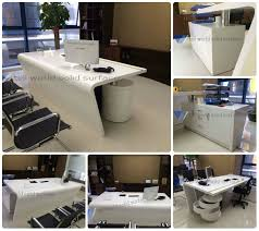 Modern Corian Office Table Design China Customized Design Manager Office Table Design Office