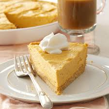 marshmallow pumpkin pie recipe taste of home