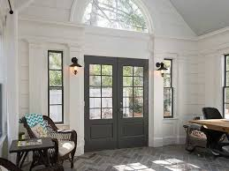 Restoration Hardware Wall Sconces Contemporary Entryway With Arched Window Doors In Atlanta
