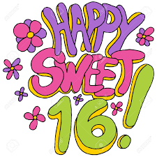 Sweet 16 Meme - make meme with happy sweet 16 clipart
