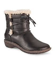 womens boots dillards ugg australia womens rianne leather boots dillards shoes