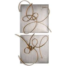 Uttermost Metal Wall Decor Uttermost Harmony Metal Wall Art Set Of 2 Free Shipping Today