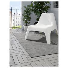 Ikea Outdoor Rugs hodde rug flatwoven in outdoor grey black 80x200 cm ikea