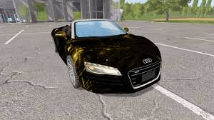 Audi R8 V10 Spyder - audi r8 v10 spyder starlight for farming simulator 2017