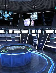 futuristic command center 3d models and 3d software by daz 3d