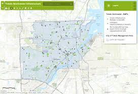 toledo ohio map toledo metropolitan area council of governments green
