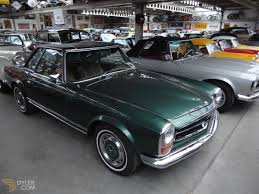 green mercedes benz classic 1969 mercedes benz 280 sl coupe for sale 878 dyler