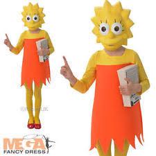 Lisa Simpson Halloween Costume Lisa Simpson Costumes Ebay