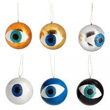 metallic eyeball christmas tree decoration the conran shop