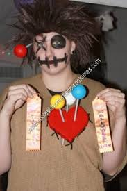 Voodoo Doll Costume Halloween Coolest Homemade Voodoo Doll Halloween Costume Idea Voodoo Doll