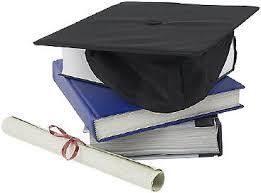 graduation books graduation cap diploma and books uid