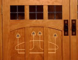 Arts And Crafts Cabinet Doors Handmade Furniture Bookcase Audio Stereo Cabinet Inlaid Doors