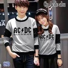 Baju Ac Dc fashion 篏 wanita 篏 atasan dress maxi 篏 cp acdc abuabu 窶 new