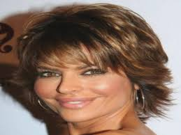 medium hairstyle for women over 40 with thick hair shoulder length