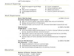 work resume templates haadyaooverbayresort com