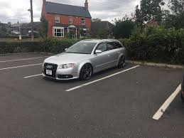 lowered amg audi a4 b7 avant lowered on amg alloys in saxilby lincolnshire