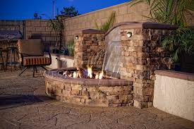 Fire Pit Pizza - fire and water fountains outdoor unbelievable design 15 custom