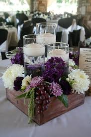centerpieces wedding best 25 plum wedding centerpieces ideas on wedding