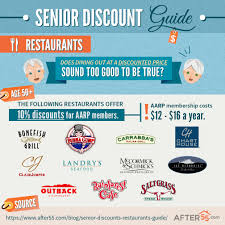 restaurant discounts 2018 restaurant senior discounts where to dine out for less at 50