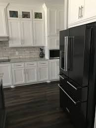 pictures of white kitchen cabinets with black stainless appliances image result for black stainless with white cabinets white