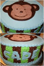 monkey baby shower cake s cakes monkey baby shower