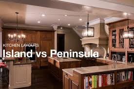 island peninsula kitchen island or peninsula which one provides the best layout for your home