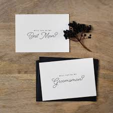 will you be my best will you be my best card by kismet weddings