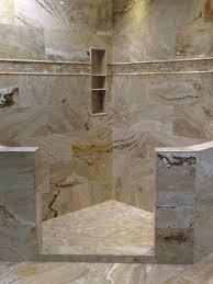 leonardo polished travertine shower displays pinterest