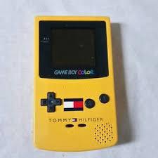 Nintendo Gameboy Color Tommy Hilfiger Edition Console Handheld Gameboy Color