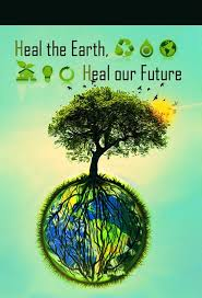 the poster with the ideas for green tree ಌ earth day 24 7 ಌ