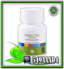 Obat Zinc zinc capsules suplemen penambah hormon tubuh obat herbal fitofarmaka