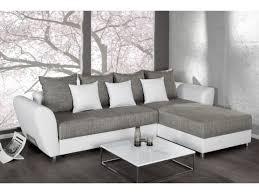 canapé blanc d angle canapé d angle convertible blanc gris palma 265 cm