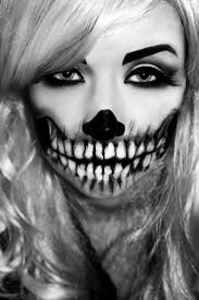 Black And White Makeup Ideas For Halloween