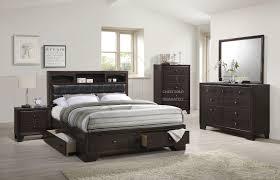noma collection merlot platform storage bedroom set