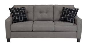Charcoal Tufted Sofa by Signature Design By Ashley Brindon Charcoal Sofa Goedekers Com