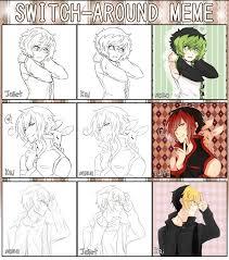 Switch Around Meme - switch around meme utau 2 by kaisuki on deviantart