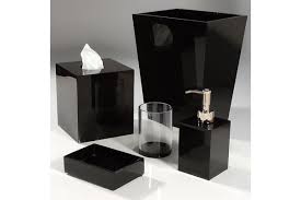 contemporary bathroom accessories captivating mike and ally black