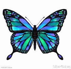 unique butterfly tattoos vivid butterfly u2013 tattoo flash org by